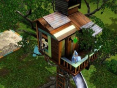 Tree house in The Sims 3 Generations
