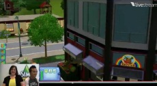Still from The Sims 3 Town Life Stuff Live Event