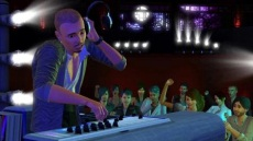 A DJ in The Sims 3 Showtime